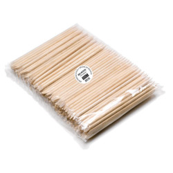 MS-PETITEC Oval/Pointed Birchwood Sticks (144)