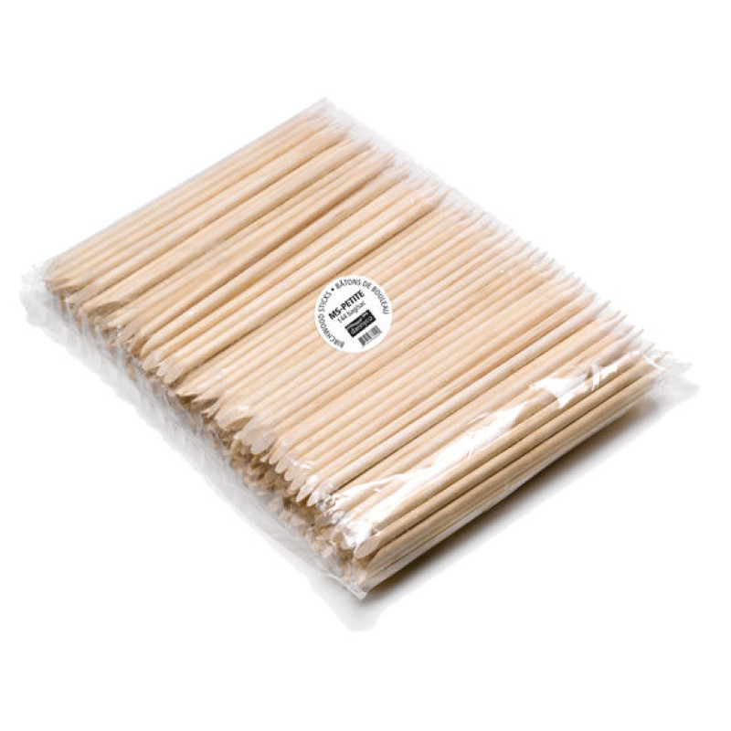 MS-PETITEC Oval/Pointed Birchwood Sticks