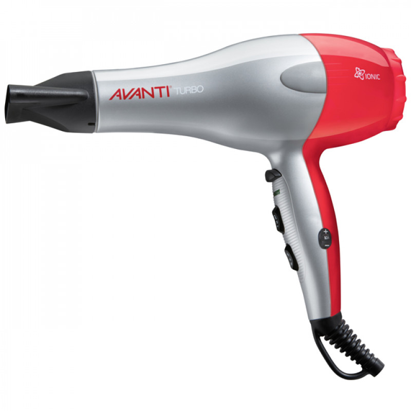 Avanti Turbo A-TURBOC Ionic Dryer Silver