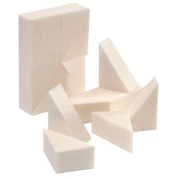 SL24WEDGEC Foam Make-Up Wedges (24)