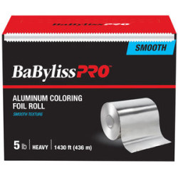 BESFOILXLUCC Smooth Light Silver 5lb Foil Roll