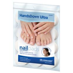 HandsDown Ultra 42940C Nail & Cosmetic Pads (60)