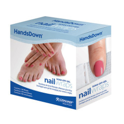 HandsDown 60906C Nail Wraps (100) 580461