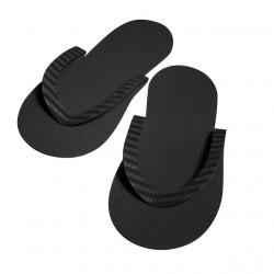 Dannyco COMFYBKNC Black Slippers (12) *
