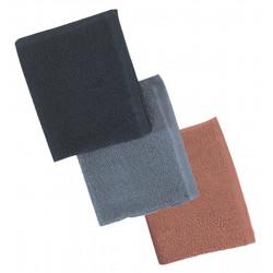 ^BESTOWELCBKUCC Black Bleachproof Towels (12)