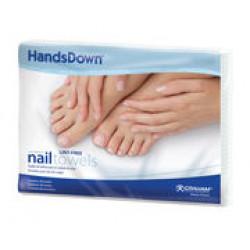 HandsDown 42910C Nail Care Towels (50)