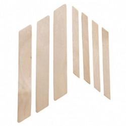 SSWA08NC Slanted Wood Applicators Large (100)