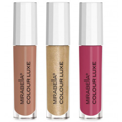 Mirabella Mini Lip Gloss Colour Luxe Trio * X