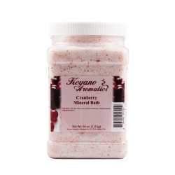 Keyano Cranberry Mineral Bath 64oz
