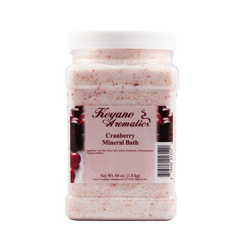Keyano Cranberry Mineral Bath 64oz