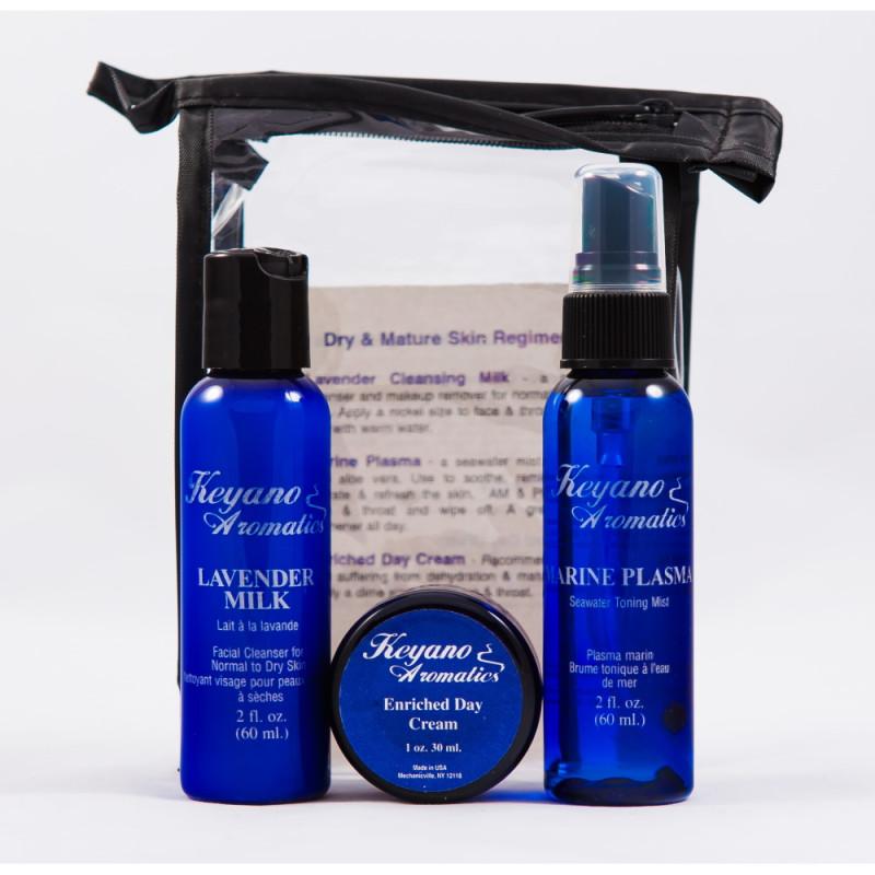 Keyano Skincare Dry Travel Kit
