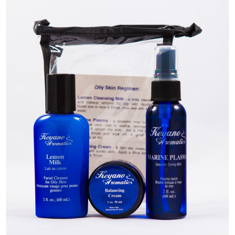 Keyano Skincare Oily Travel Kit