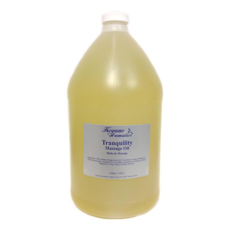 Keyano Tranquility Massage Oil Gallon