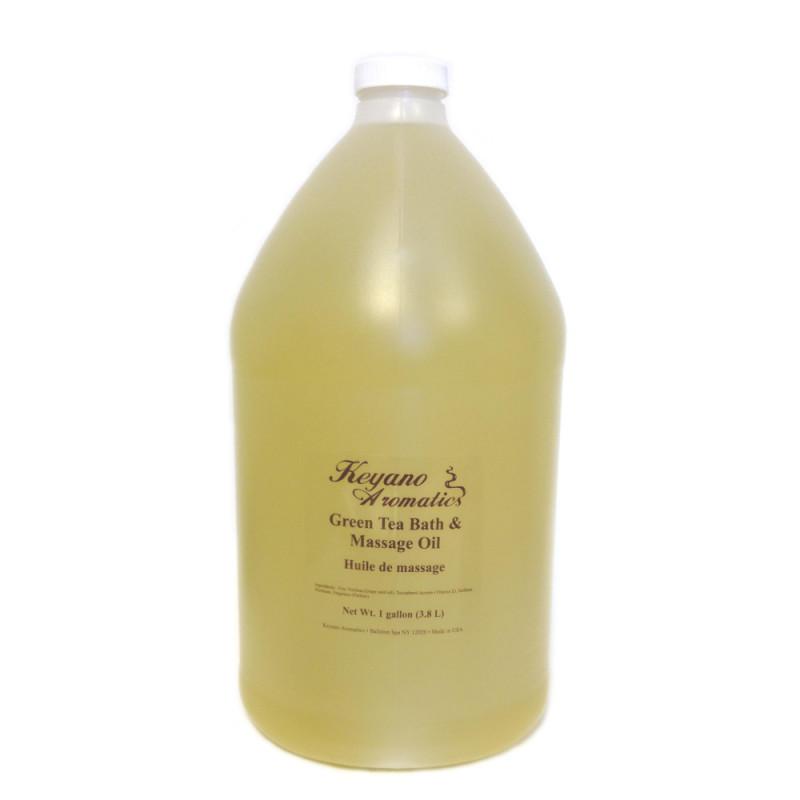 Keyano Green Tea Massage Oil Gallon