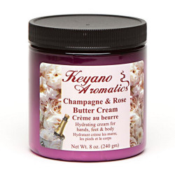 Keyano Champagne Rose Butter Cream 8oz