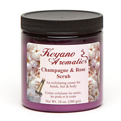 Keyano Champagne Rose Scrub 10oz