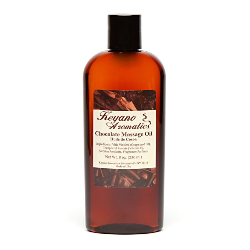 Keyano Chocolate Massage Oil 8oz