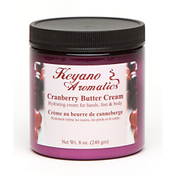 Keyano Cranberry Butter Cream 8oz