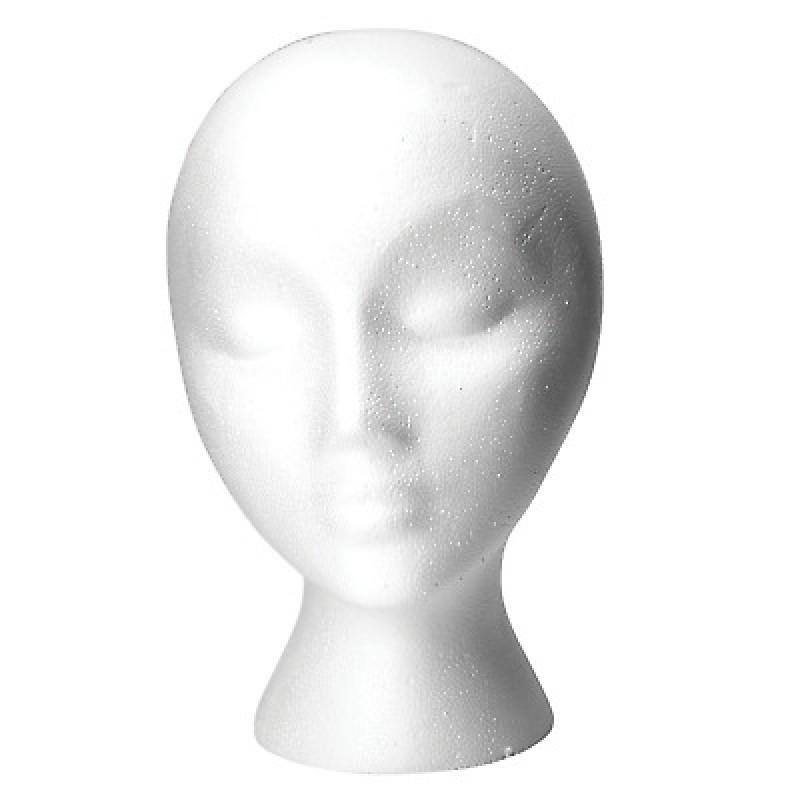 Babe Styrofoam Mannequin Head