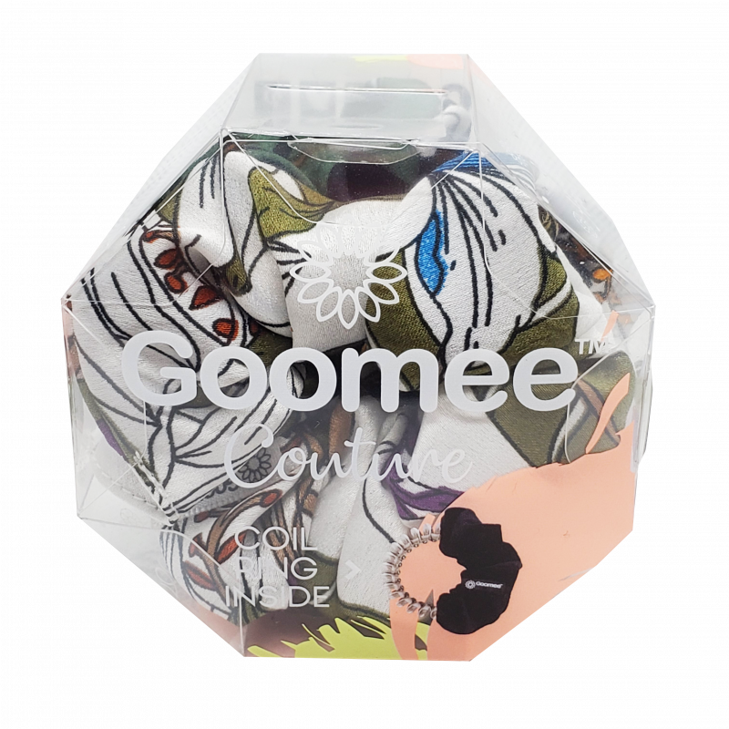 Goomee Couture Satin Scrunchie Cannes