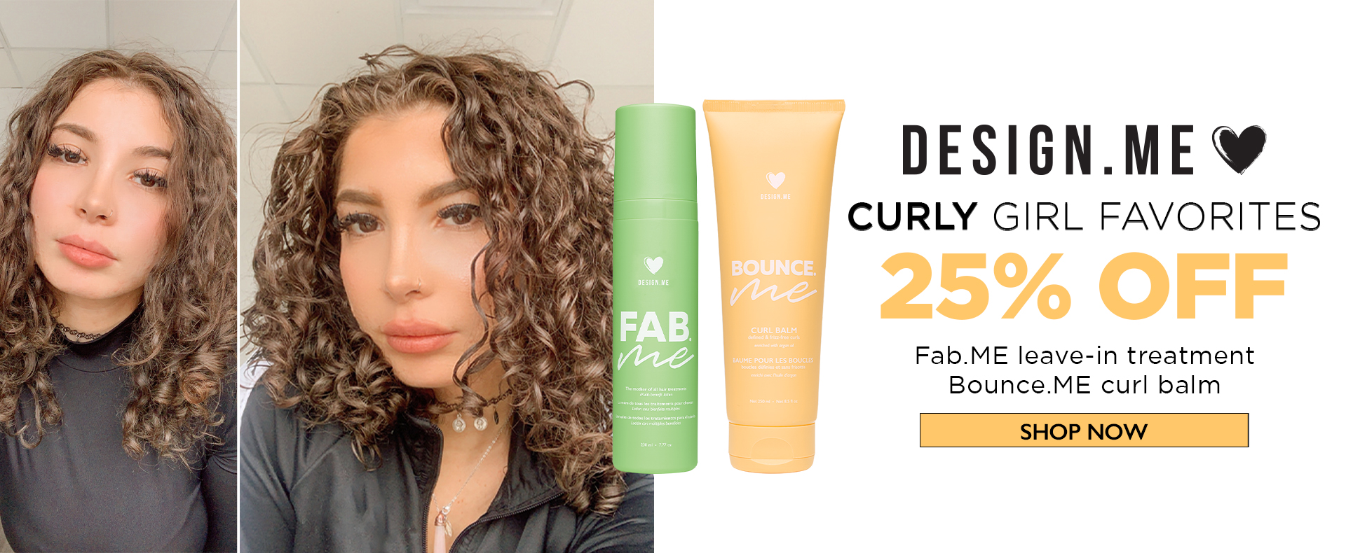 DesignMe - Curly Girl Favourites!