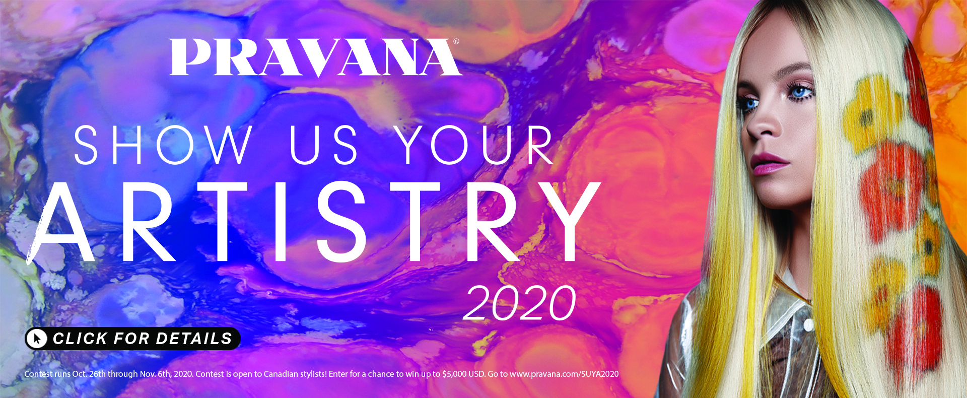 Pravana - Show Us Your Artistry!
