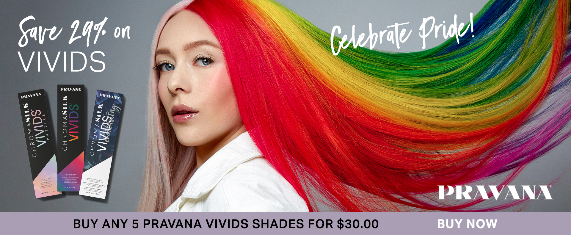 Pravana Vivids 5 for $30